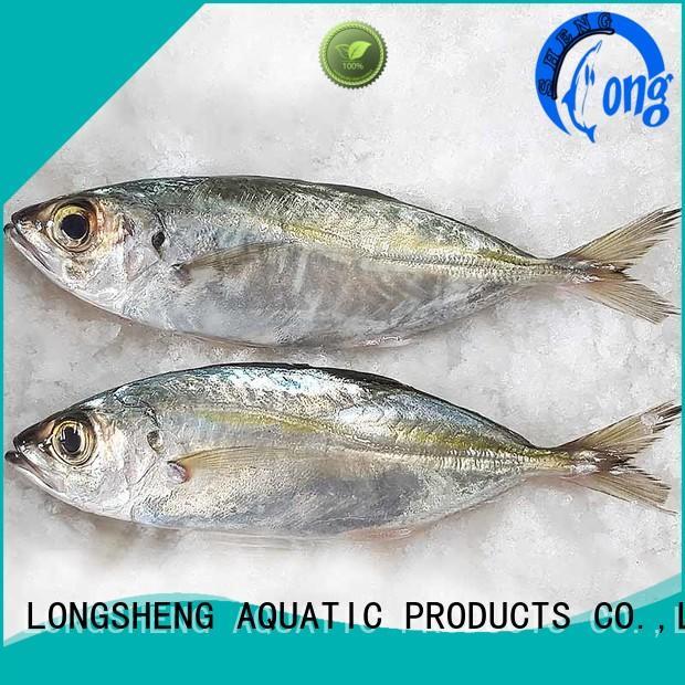 LongSheng trachurus frozen fish horse mackerel for cafe