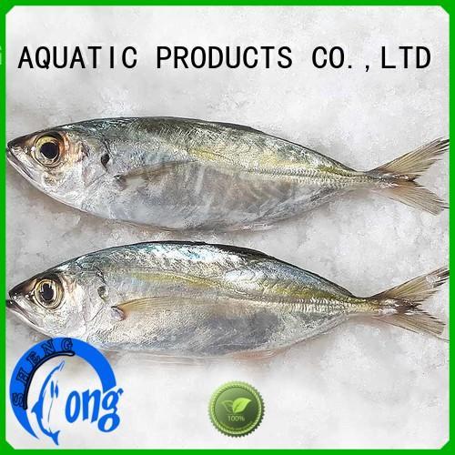 LongSheng Custom frozen horse mackerel fish for cafe