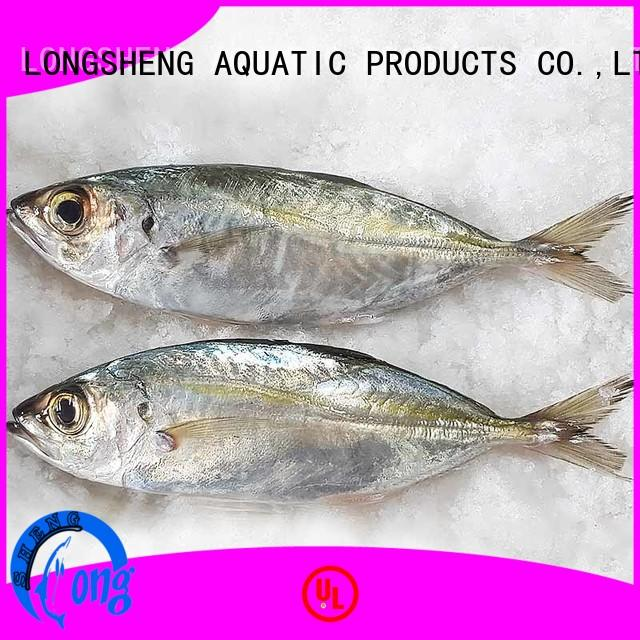 LongSheng popular frozen whole round horse mackere round for restaurant