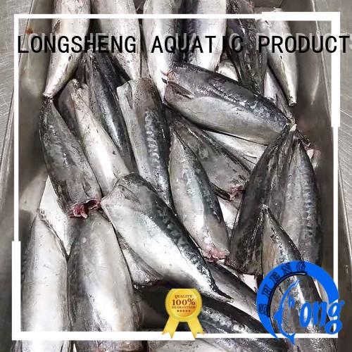 LongSheng bonito fish frozen company for supermarket
