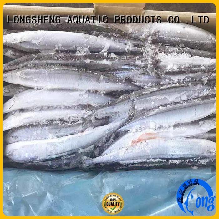 LongSheng frozen mackerel pike online for cafeteria