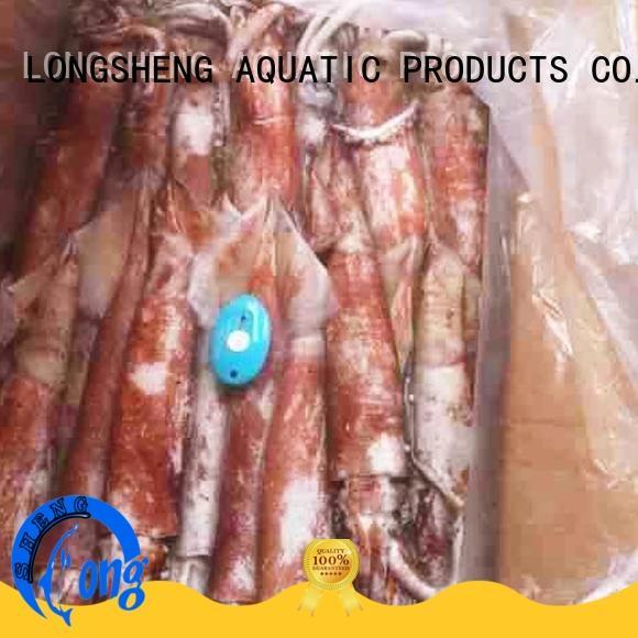 LongSheng tube frozen squid manufacturer for hotel