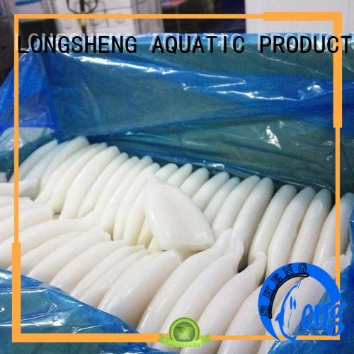 LongSheng Custom frozen illex squid for sale Supply for cafeteria
