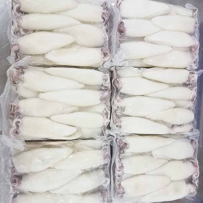 LongSheng New frozen whole uncleaned squid factory for hotel-2