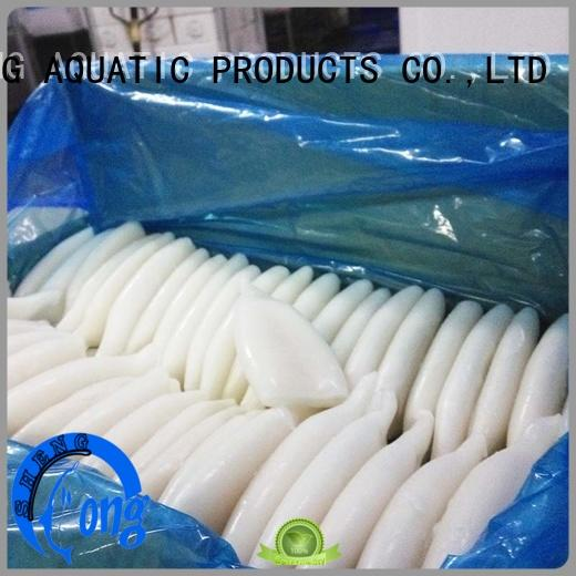 LongSheng tt frozen squid tubes delivery for restaurant