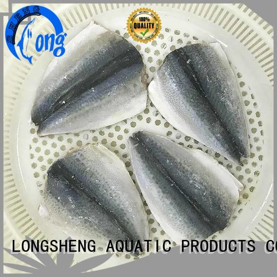 LongSheng professional fish frozen mackerel company for market