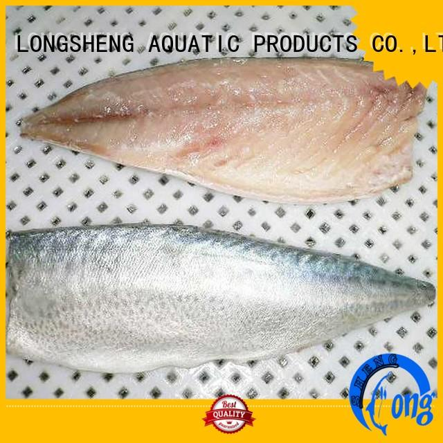 LongSheng hgt frozen pacific mackerel food for hotel
