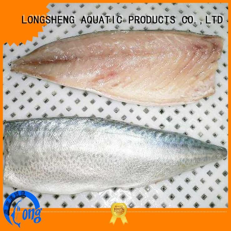 LongSheng flaps frozen pacific mackerel food