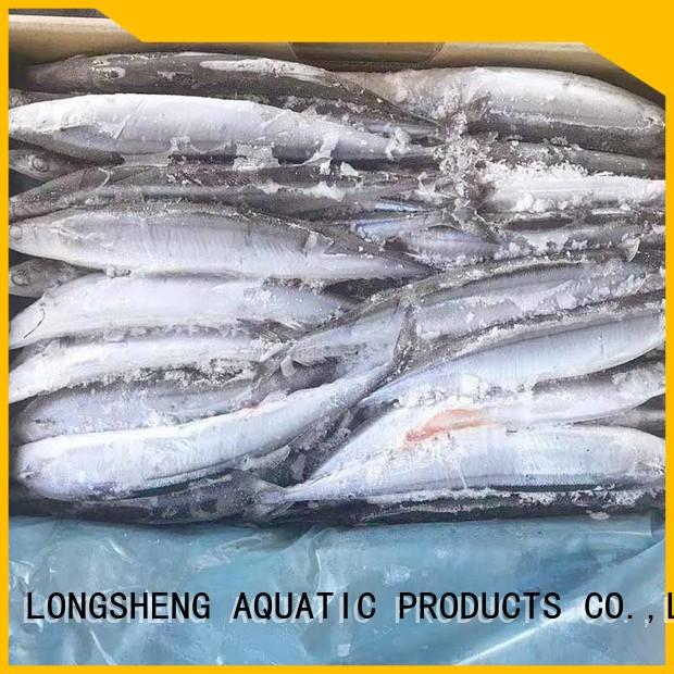 LongSheng clean frozen fish and seafood manufacturers for cafe