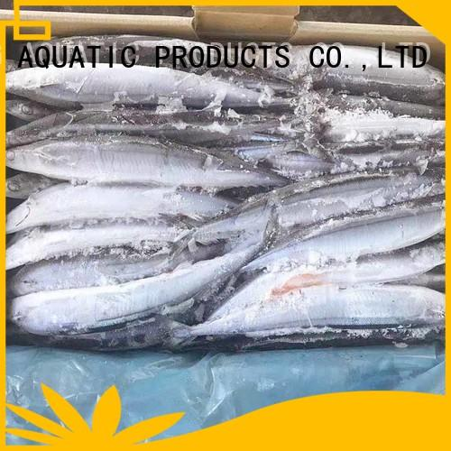LongSheng saurycololabis fresh frozen fish for business for cafe