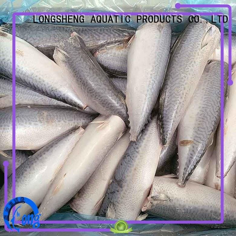 LongSheng good quality frozen mackerel fish for sale flaps for market