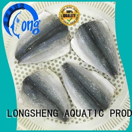 fillet mackerel hgt for sale for restaurant LongSheng