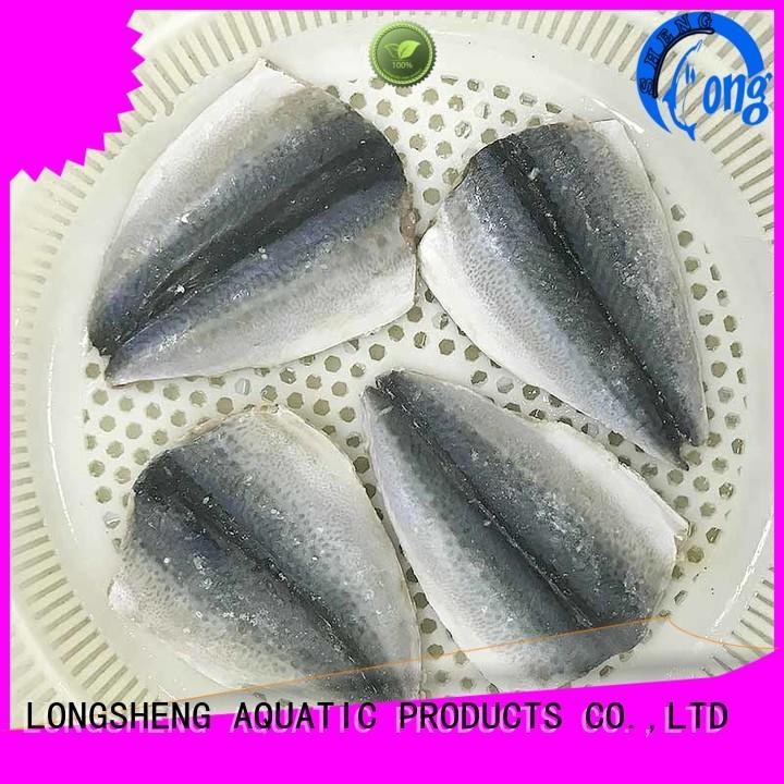 LongSheng tasty frozen mackerel fillet for sale