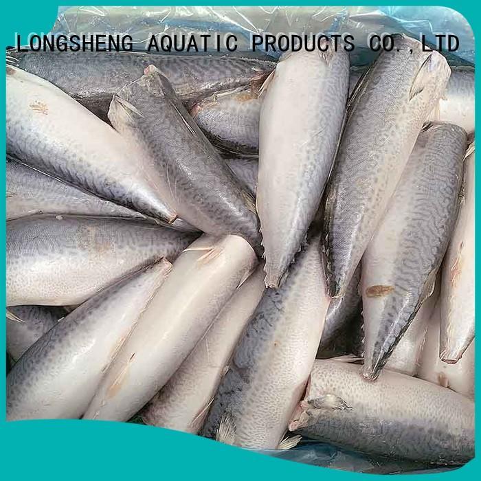 LongSheng fishfrozen frozen mackerel fish price for business for supermarket