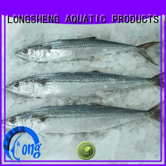LongSheng whole cheap frozen fish for seafood shop