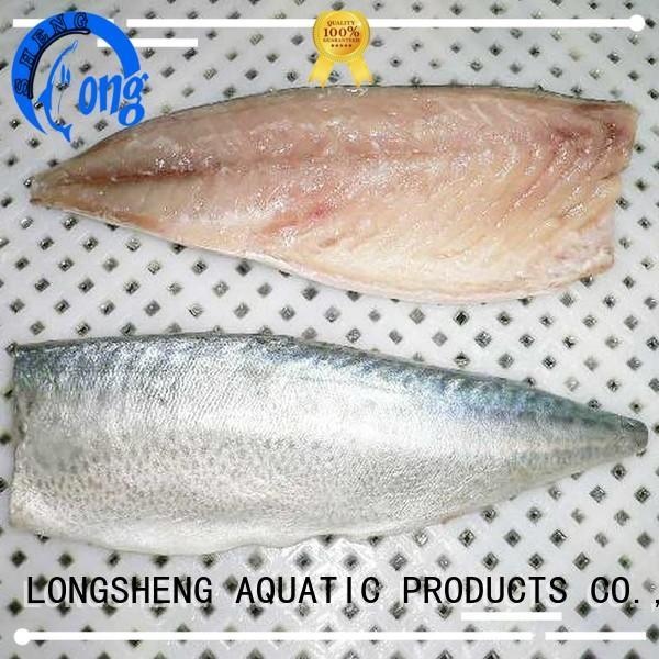 LongSheng fillet frozen mackerel fillet supplier for hotel