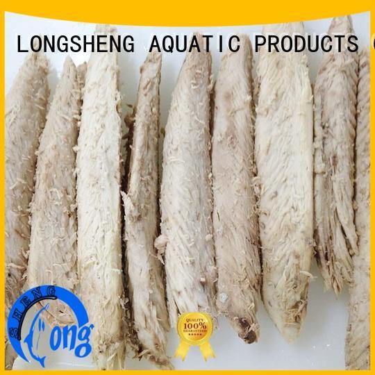 LongSheng thazard frozen tuna loin company for home party
