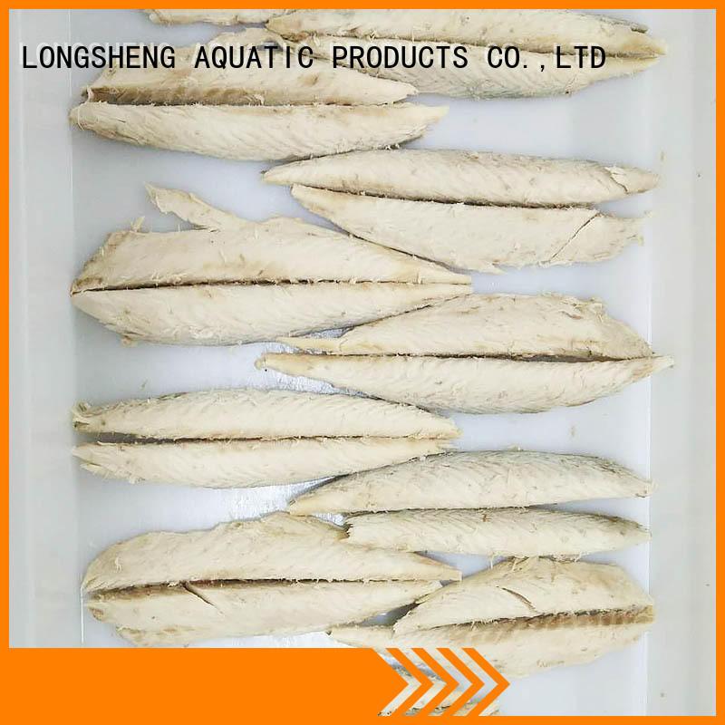 LongSheng bulk purchase frozen mackerel loin for business for party