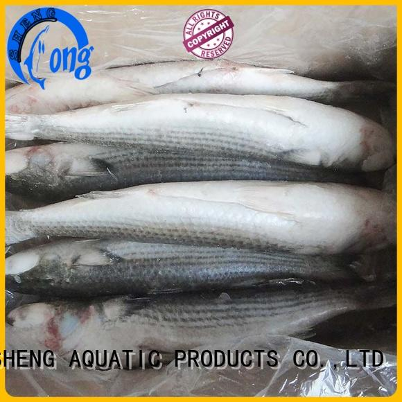 LongSheng clean frozen mullet for sale Chinese for market