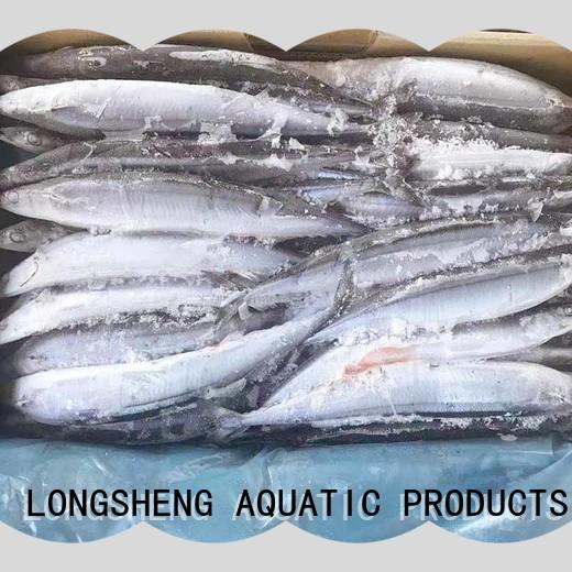 LongSheng natural pacific saury sale manufacturers for cafeteria