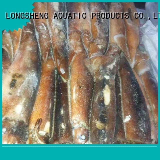 LongSheng flowersquid frozen baby squid manufacturers for cafeteria