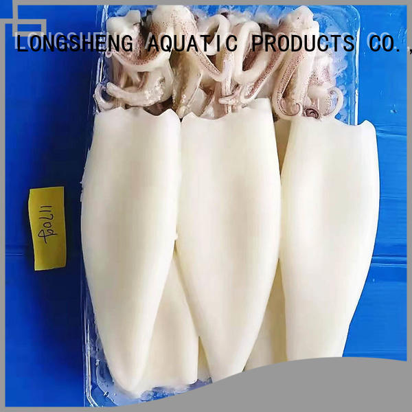 LongSheng Wholesale frzozen squid t+t Supply for cafe
