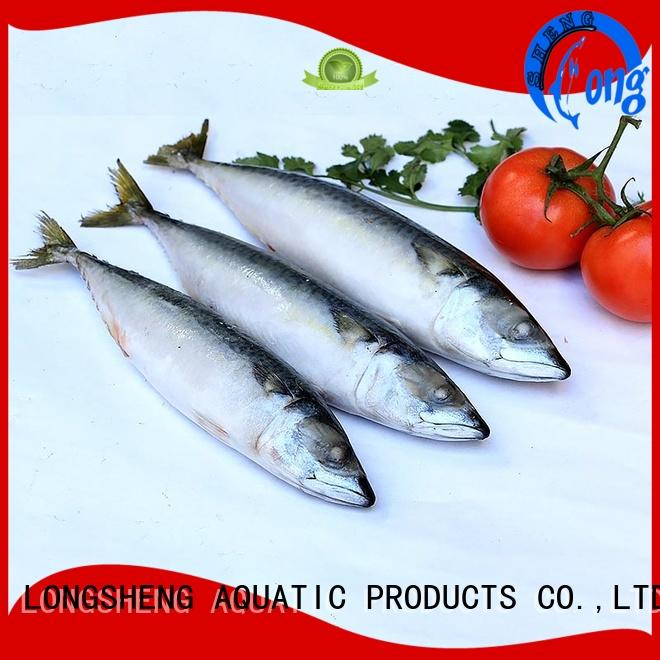 LongSheng flaps frozen mackerel fillets suppliers for supermarket