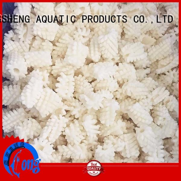 LongSheng High-quality frozen squid export factory for cafe