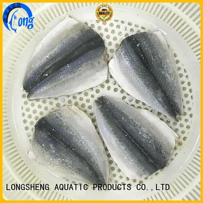 LongSheng hgt frozen mackerel fillets Suppliers for restaurant