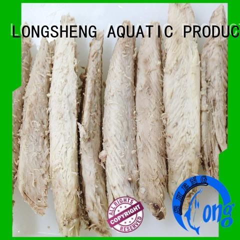 LongSheng tasty frozen skipjack tuna loin manufacturers for party
