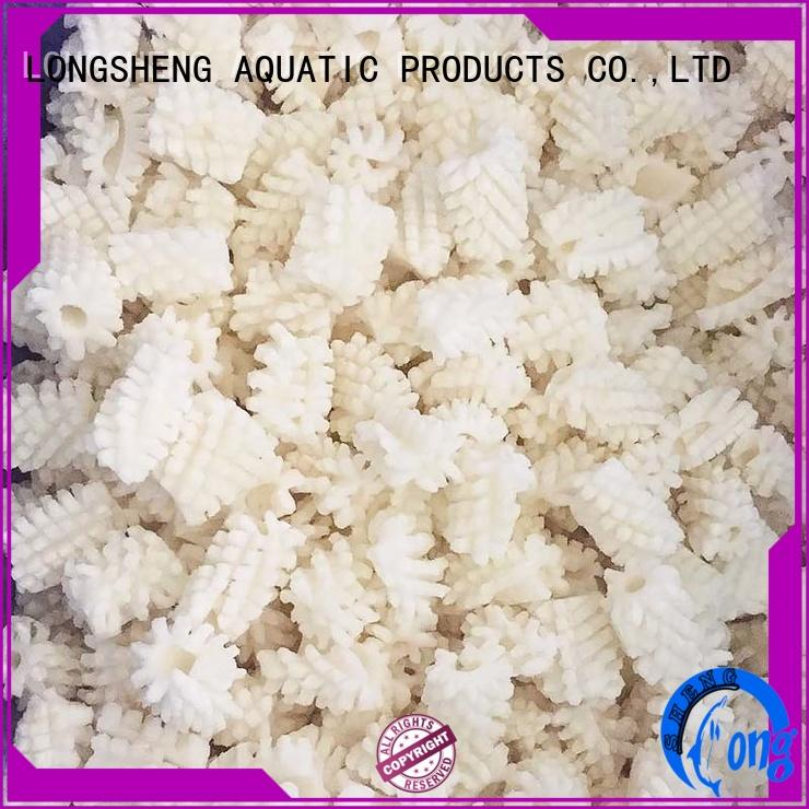 LongSheng Best frozen squid rings price company for hotel