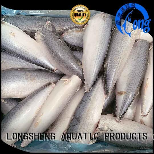 LongSheng round frozen whole mackerel factory