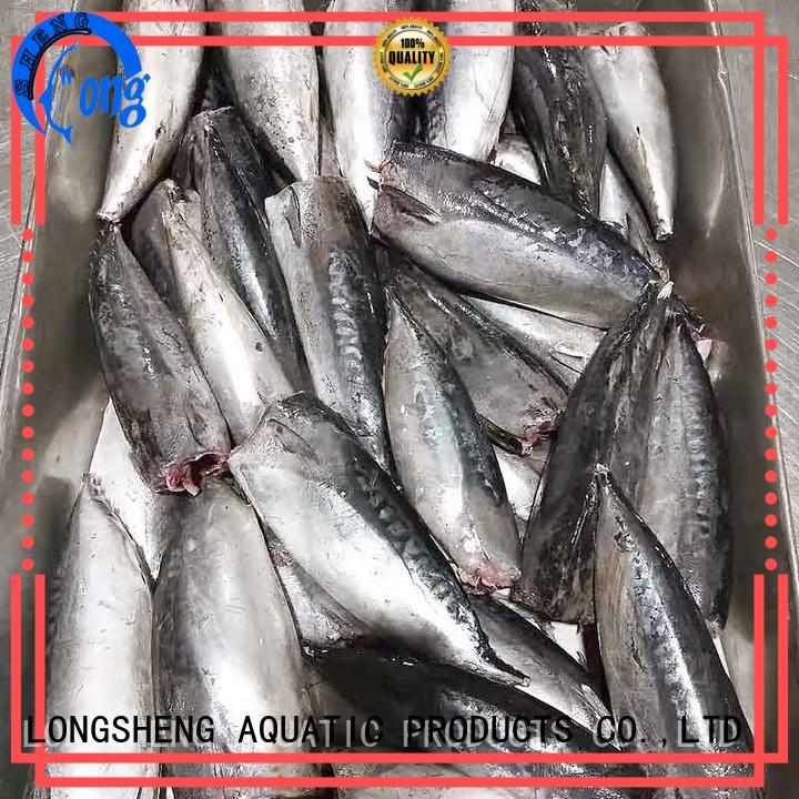 LongSheng high quality frozen bonito fish online for market