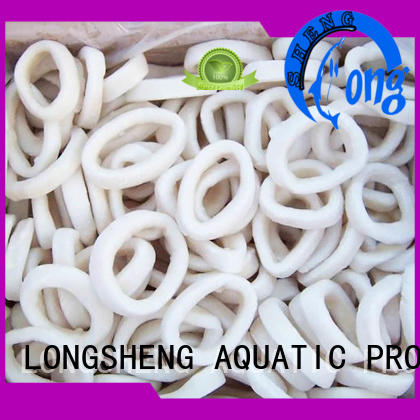 LongSheng flowersquid frozen baby squid delivery for cafeteria