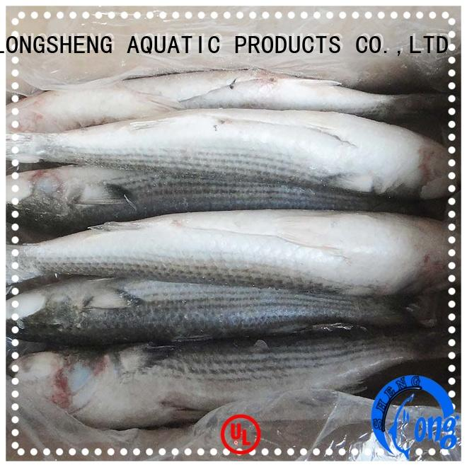 clean frozen grey mullet Chinese for hotel LongSheng