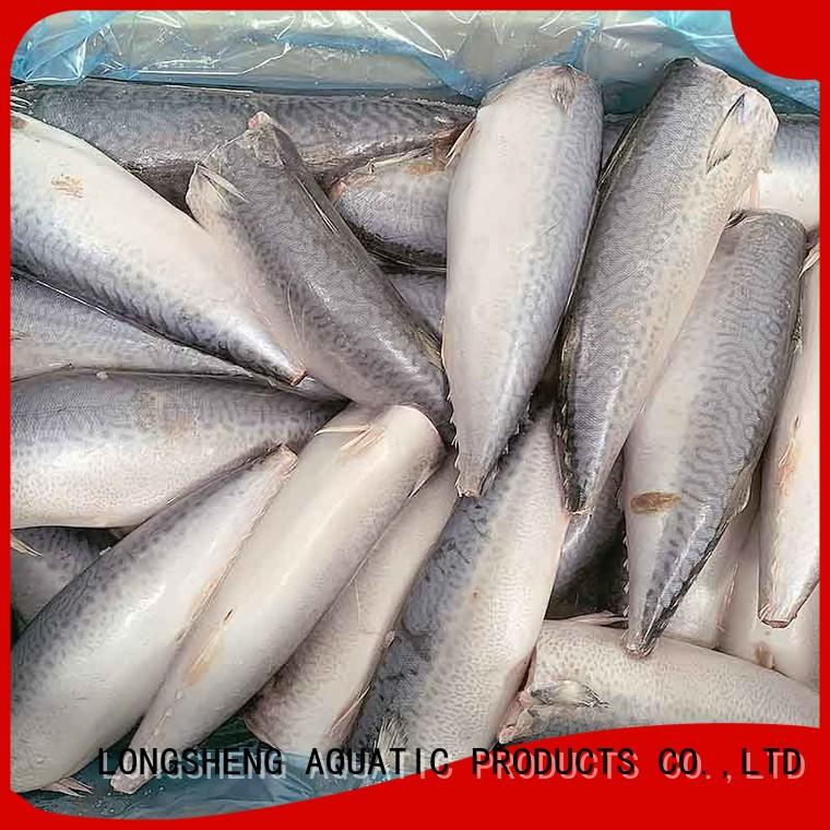 LongSheng whole frozen mackerel prices company