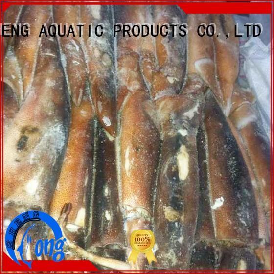 LongSheng frzozen squid t+t for hotel