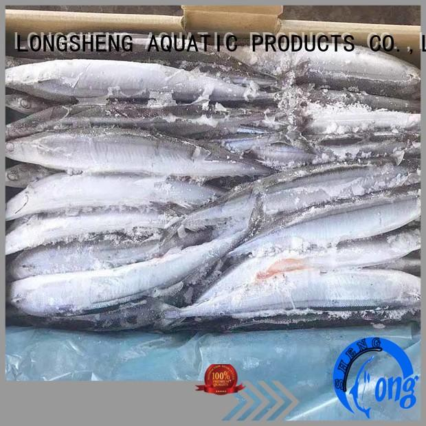 LongSheng High-quality Frozen pacific saury company for hotel
