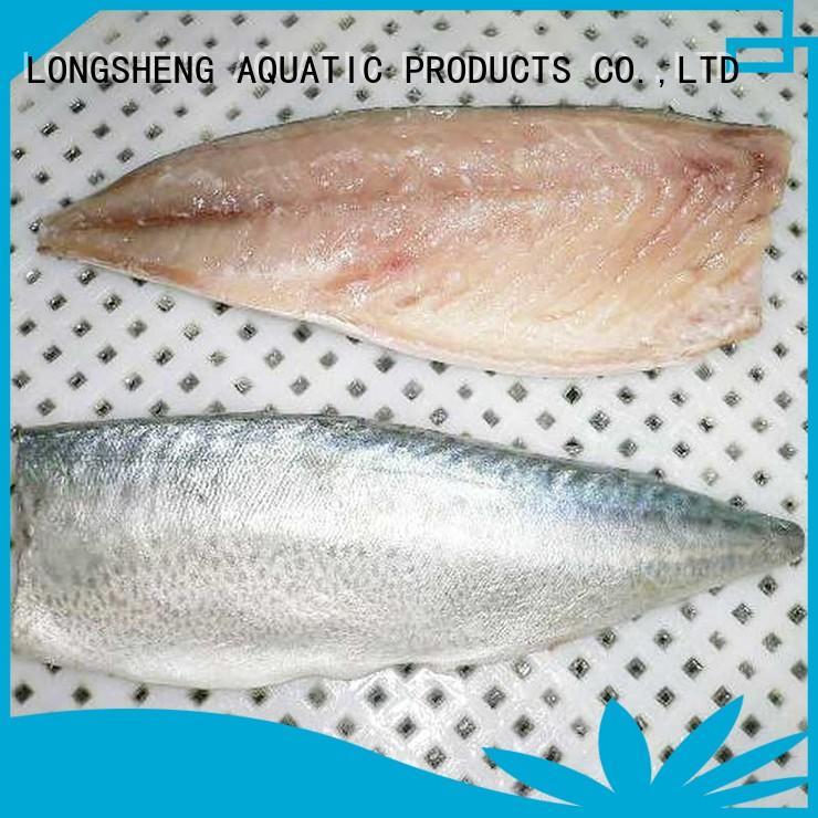 LongSheng round frozen whole mackerel for business for supermarket