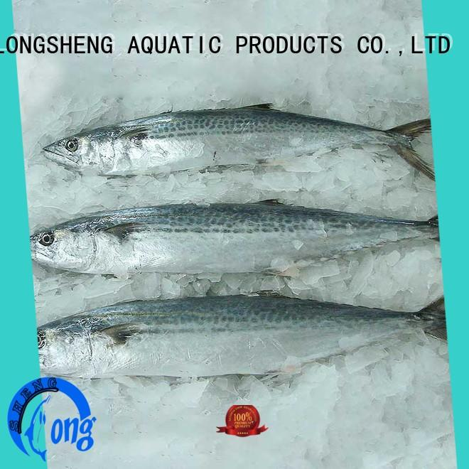 LongSheng technical spanish mackerel fish price frozen for supermarket