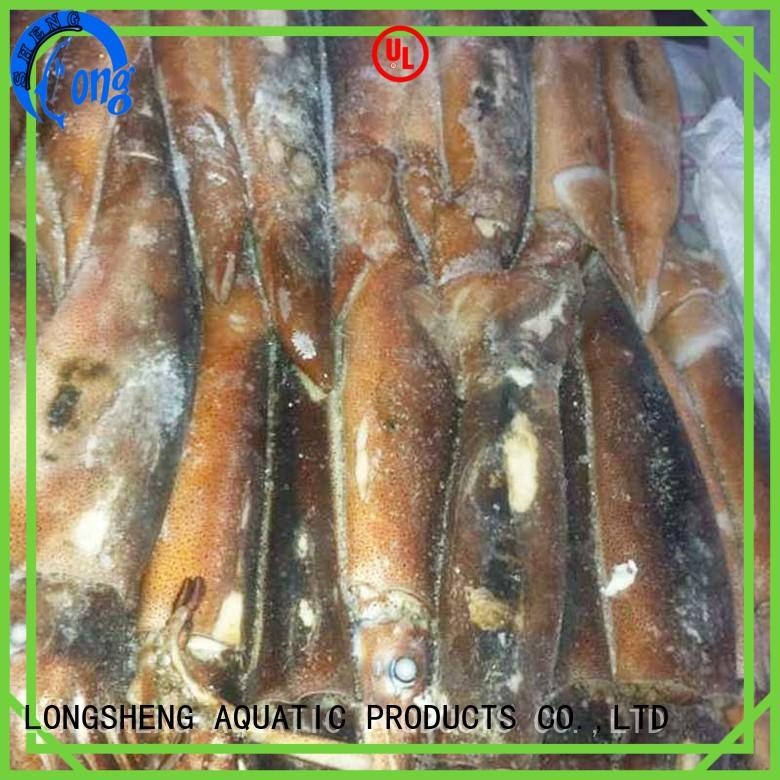 LongSheng rings frozen squid rings price for restaurant