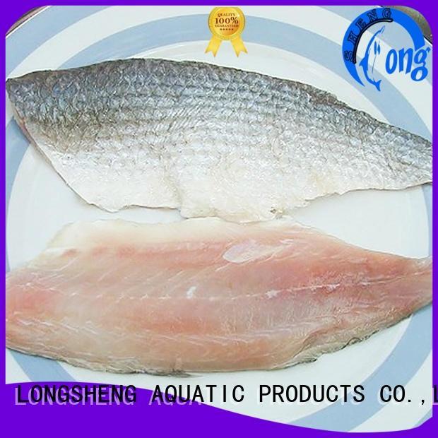 LongSheng fillet seafood wholesale for market