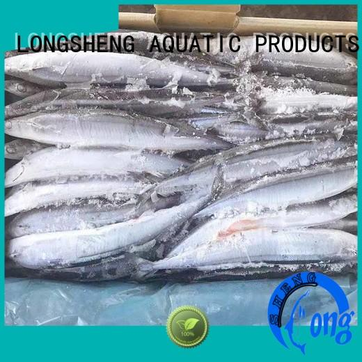 Frozen pacific saury pacific for cafeteria LongSheng