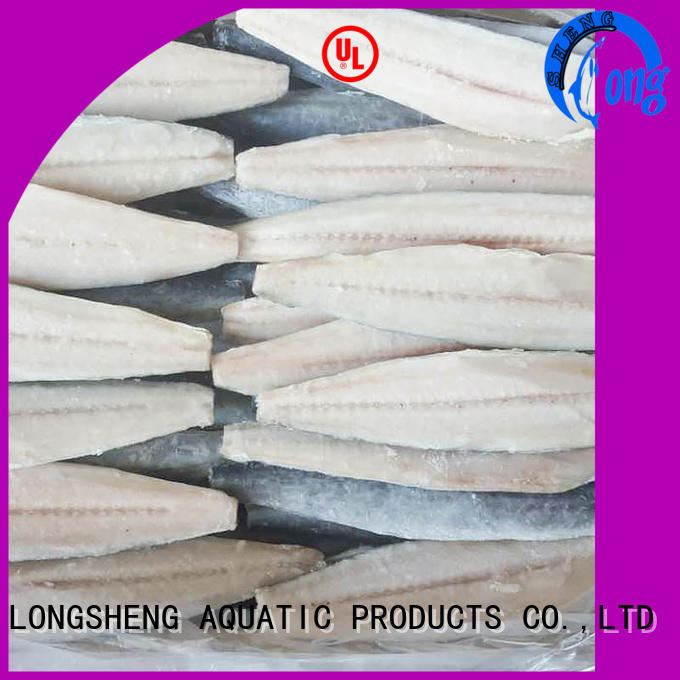 LongSheng high quality frozen at sea fish factory for seafood shop