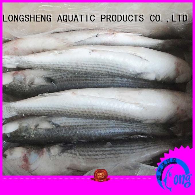 LongSheng mullet frozen seafood supplier on sale for supermarket