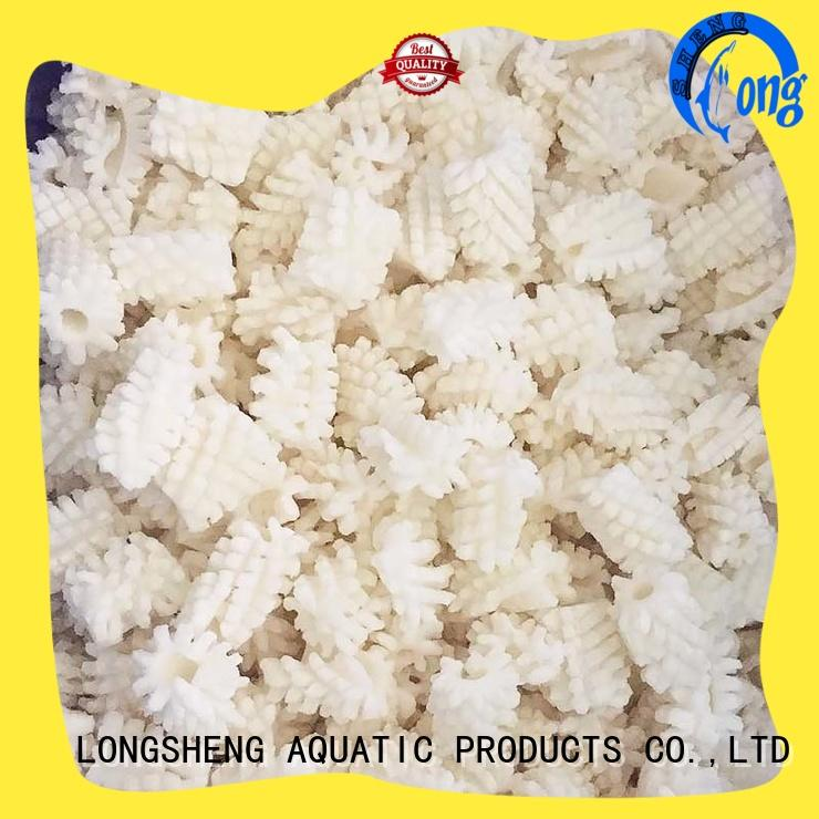 LongSheng healthy frozen squid price round for hotel
