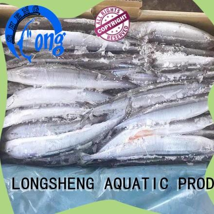LongSheng pacific Frozen pacific saury on sale for cafe