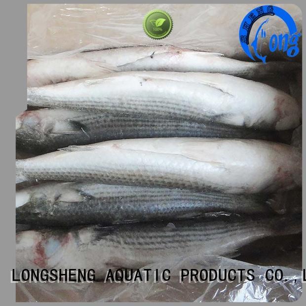 LongSheng healthy frozen seafood industry fillet for supermarket