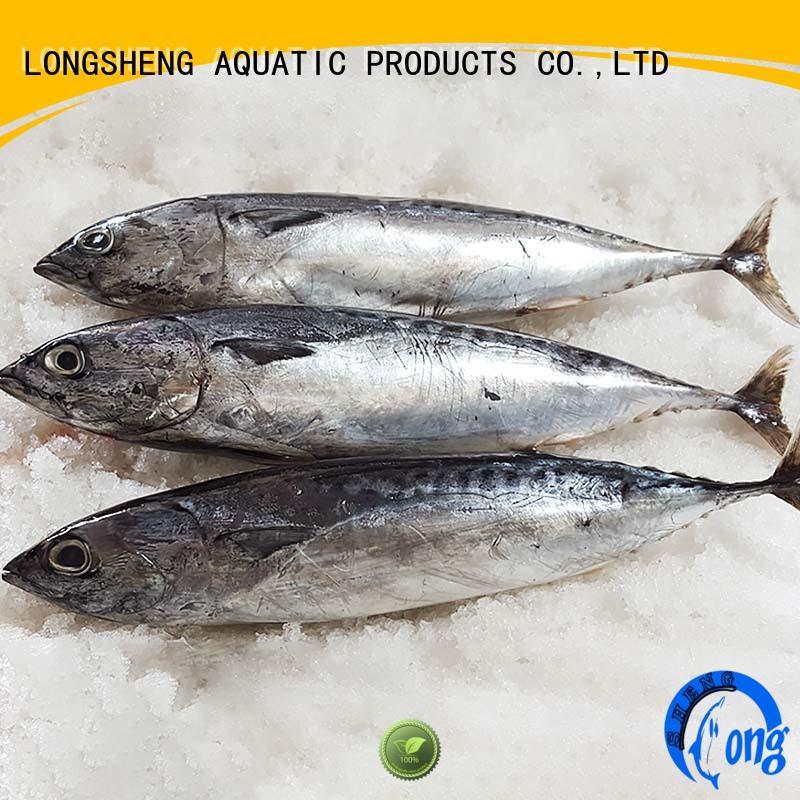 LongSheng bonito frozen skipjack for sale on sale for seafood shop