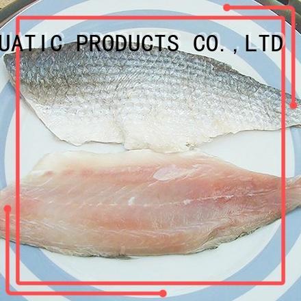 LongSheng fillet frozen seafood industry factory for market